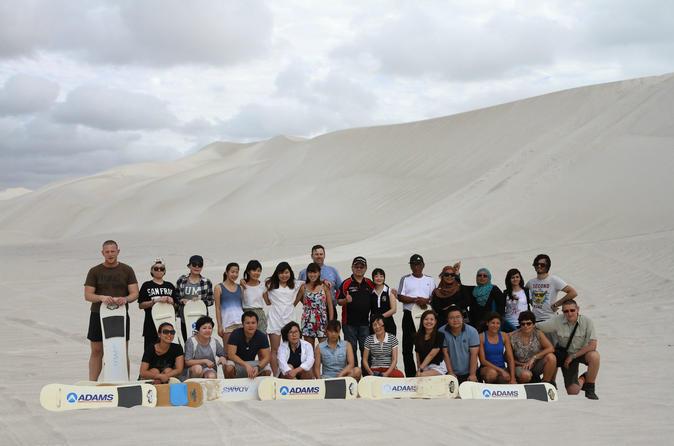 Full Day Pinnacle Desert Explorer from Perth Including Hillarys and Lancelin Sandboarding