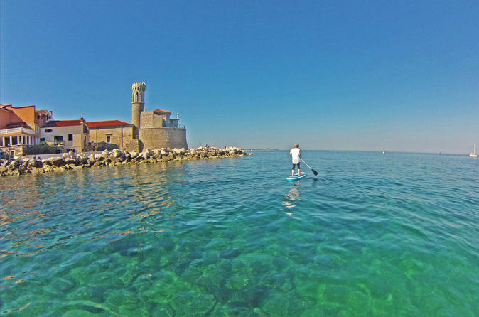 Piran stand up paddle boarding lesson and tour in portoro 315864