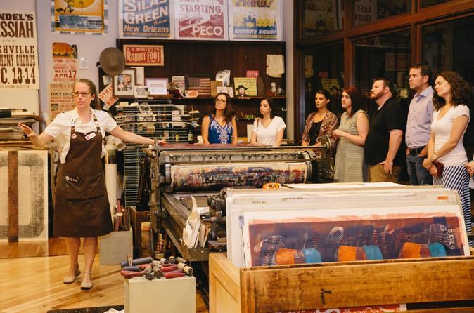 Hatch Show Print Tour in Nashville
