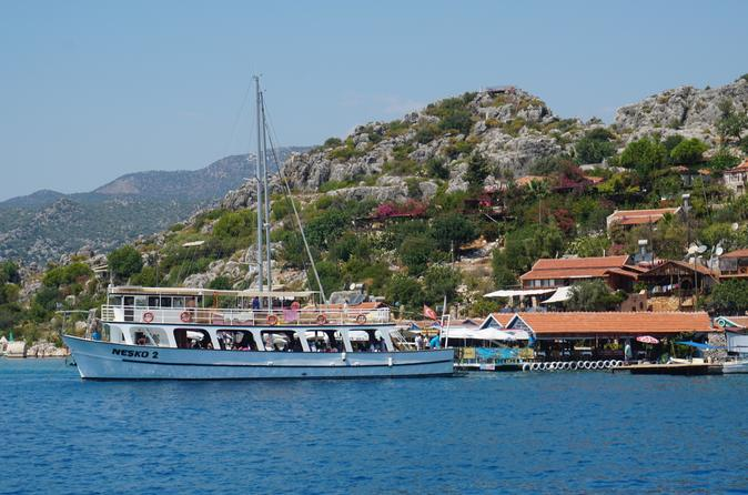 Full-Day Shared Boat Trip To Kekova From Demre
