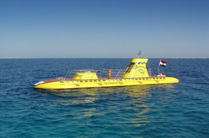 Hurghada Shore Excursion: Sinbad Submarine under the Red Sea