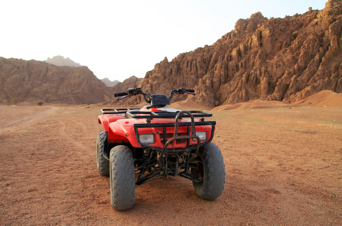 Quad Biking in the Egyptian Desert from Hurghada Egypt, Africa