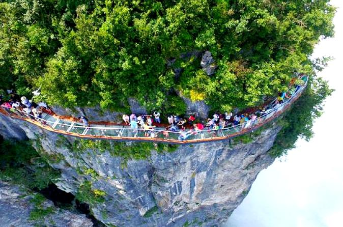 Group Day Trip To Zhangjiajie Tianmen Mountain And Sky Walk