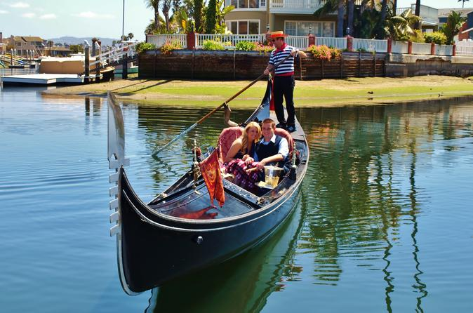 Gondola ride in newport harbor in newport beach 366064
