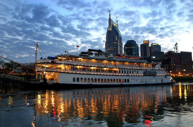 Nashville showboat lunch or dinner cruise on the general jackson in nashville 120779