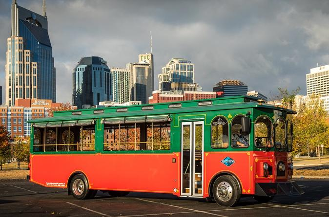 Night Time Trolley Tour of Nashville