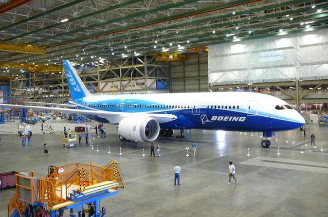 Excursão Boeing saindo de Seattle