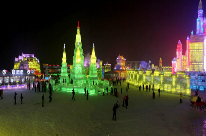 All Inclusive Private Harbin Day Tour including Sun Island, Snow and Ice World