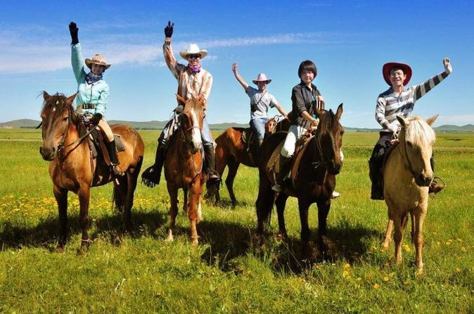 Private Tour: Badaling Great Wall and Kangxi Grasslands on Horseback
