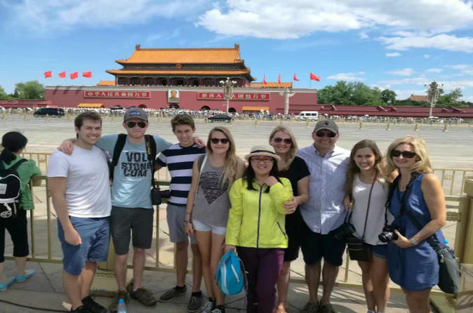 Quality Coach Day Tour to Tiananmen Square and Forbidden City plus Badaling Great Wall
