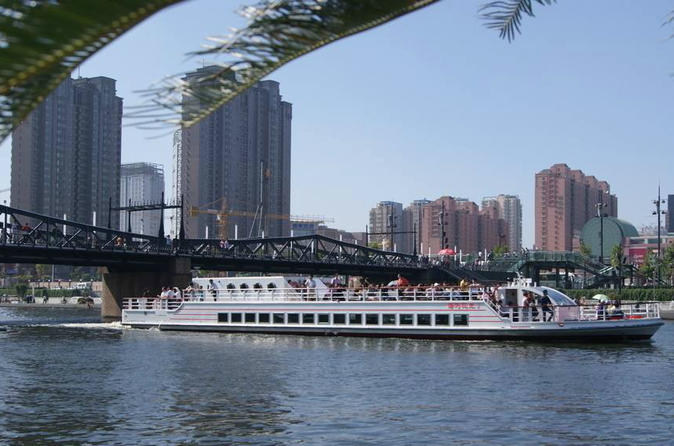 Ultimate  boating tour in Haihe from Beijing to Tianjin by high speed train