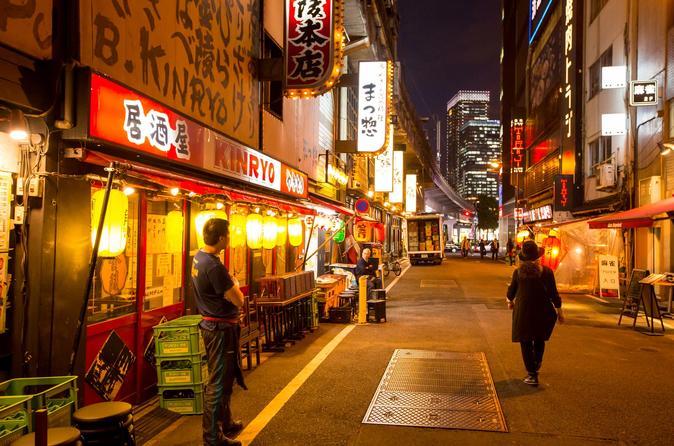 Excursão Gastronômica a pé em Yurakucho, Shimbashi e Ginza
