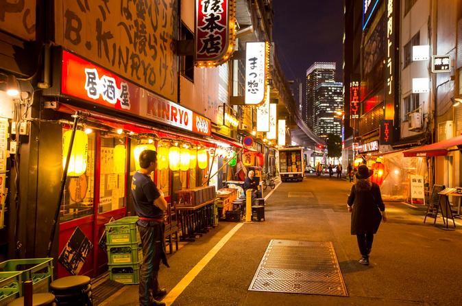 Walking food tour in yurakucho shimbashi and ginza in tokyo 434282