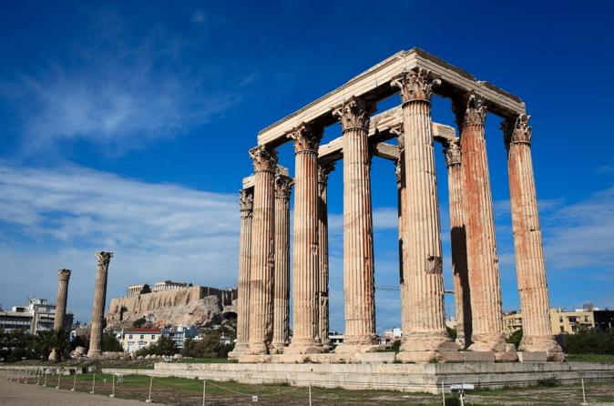 Atenas supereconômica: excursão em Atenas mais viagem de um dia a Delfos