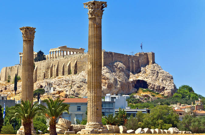 Athens super saver city sightseeing tour plus half day cape sounion in athens 119222