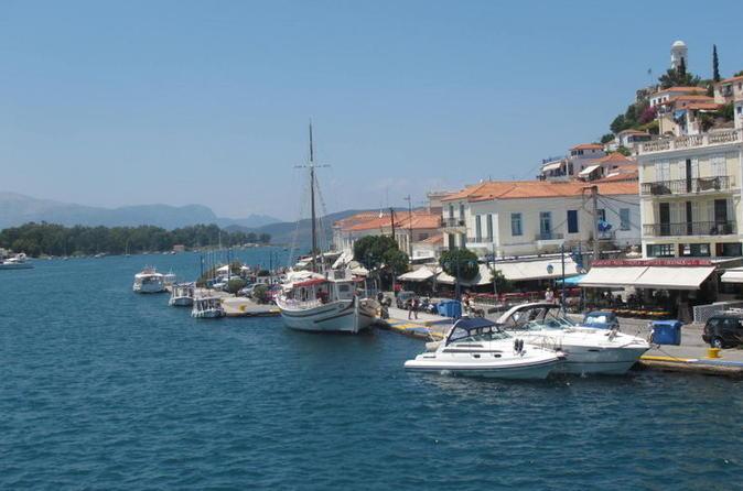 Cruzeiro de um dia por Hydra, Poros e Egina saindo de Atenas com upgrade VIP opcional