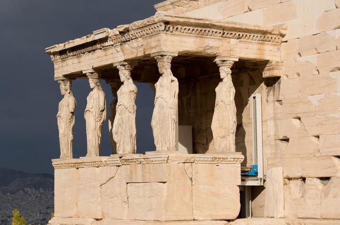 Excursão de dia inteiro por Atenas, Acrópole e Cabo Sunião com almoço