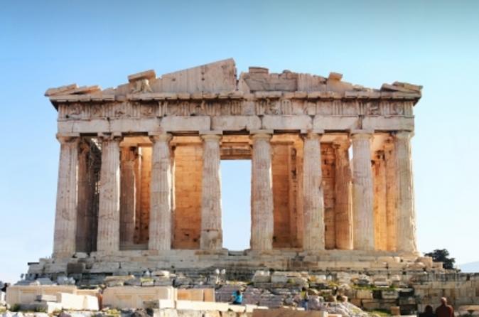 Pacote supereconômico: excursão a pé pela Acrópole e viagem de meio dia pelo Cabo Sunion e pelo Templo de Posseidon