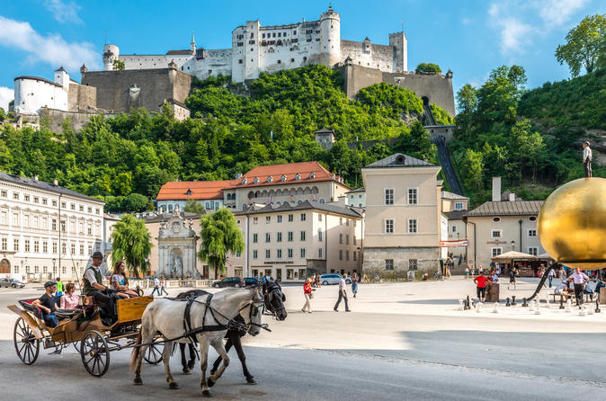 Experience a complete tour of the world heritage cities of Salzburg as well as Hallstatt and Bad Ischl