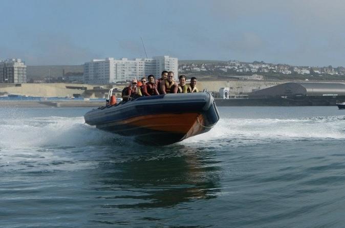 Barcelona High-Speed RIB Boat Cruise