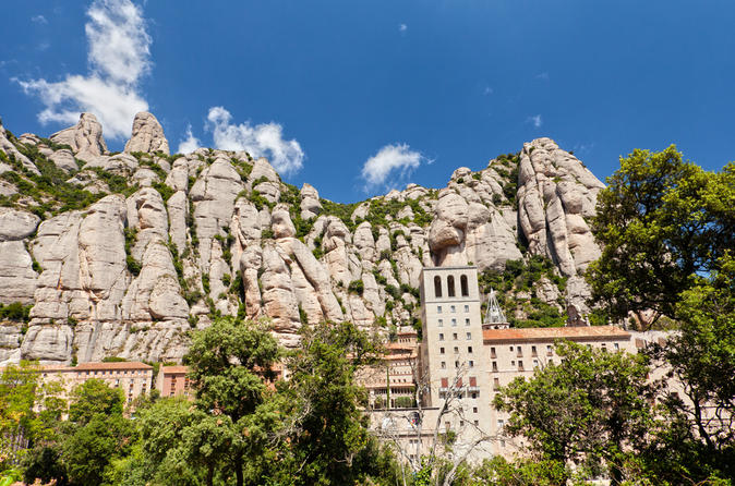 Montserrat half day small group tour with optional skip the line in barcelona 122672