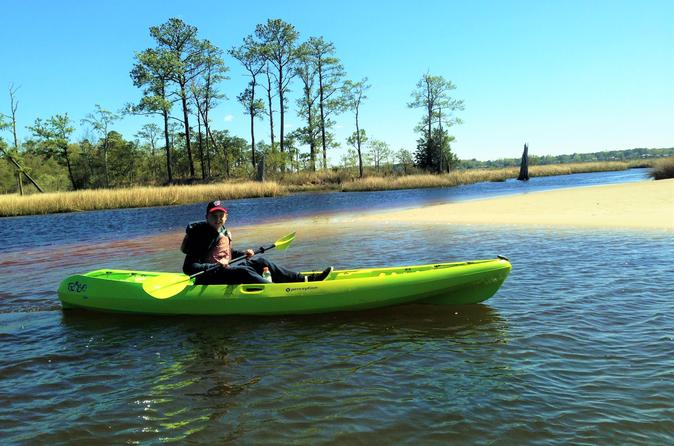 Kayak eco tour of first landing state park in virginia beach 300407