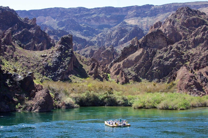 Rafting in de Black Canyon