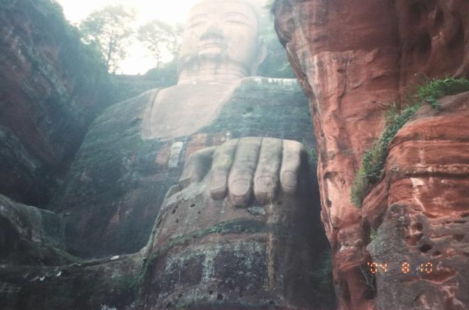 Panoramic View Of Leshan Giant Buddha - Chengdu