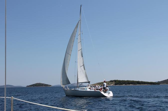 Murter island 5 day basics of sailing course in jezera 300309
