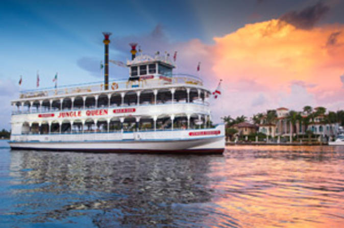 Jungle queen riverboat dinner cruise and show in fort lauderdale 333806