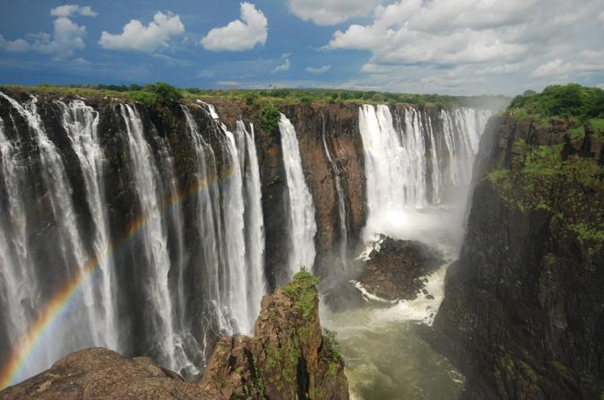 Excursão de 3 dias por Victoria Falls com voo de ida e volta de Joanesburgo