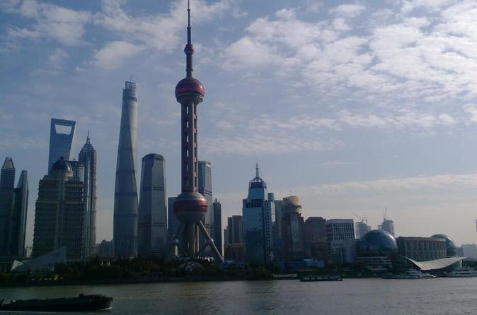 Group Day Tour Full-View Of Shanghai City Highlights With Lunch Inclusive