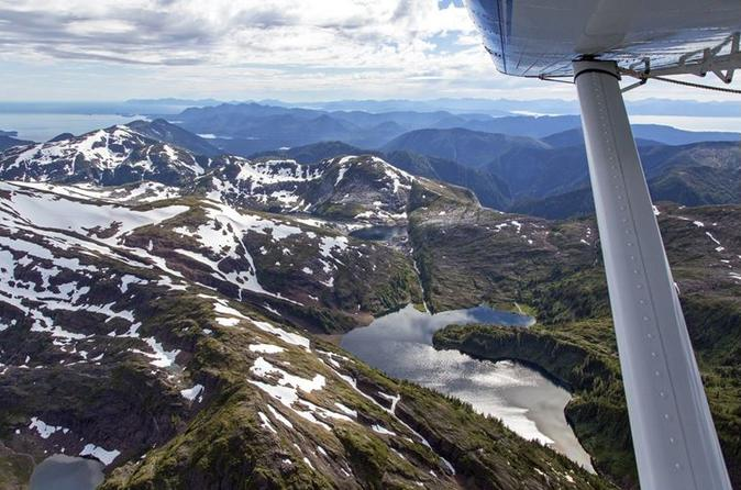 Misty Fjords Scenic Flight and Crab Feast From Ketchikan