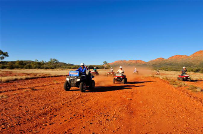 Alice springs quad bike undoolya discovery tour in alice springs 145585