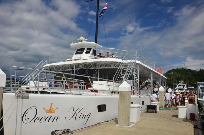 Ocean King Catamaran from Jacó
