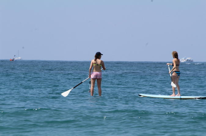 Small group tour stand up paddleboarding from manuel antonio in quepos 430730
