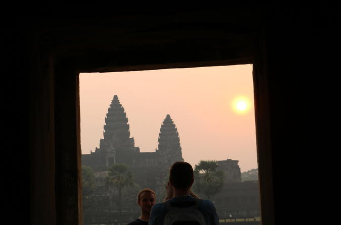 Sunrise small group tour of angkor wat from siem reap in krong siem reap 577357