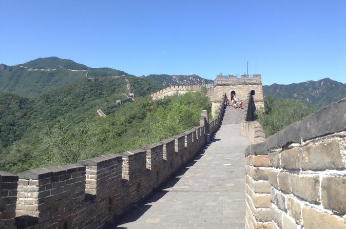 Tianamen Square, Forbidden City, and Mutianyu Great Wall from Beijing