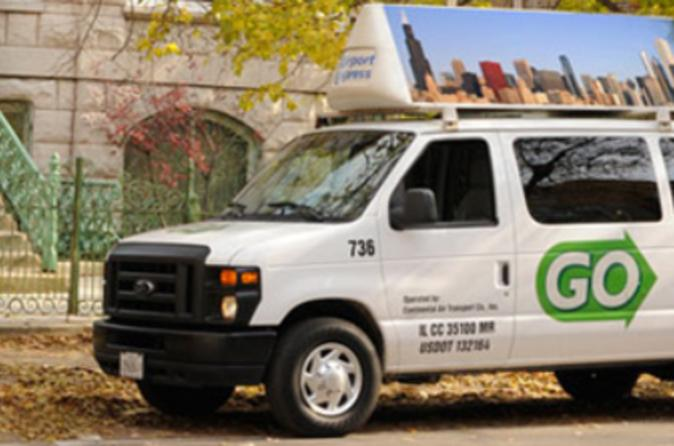 Chicago Airport Arrival Transfer by Private Van