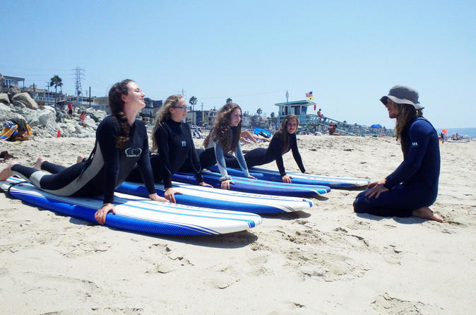 Surf lessons hermosa beach in los angeles 301550