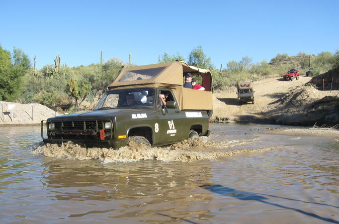 M1009 Blazer 4x4 Sonoran Desert Adventure from Phoenix