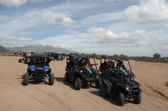 Private 4-Seater UTV Adventure from Phoenix