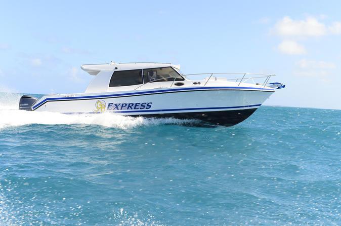 Simpson Bay Private Round-Trip Ferry Transfer from St. Maarten to Anguilla Sint Maarten (Netherlands), Caribbean