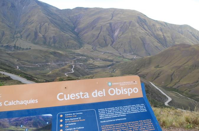 Day trip to cachi and calchaqu valleys from salta in salta 307071
