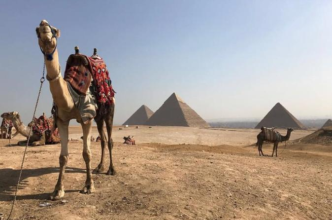 Giza Pyramids Half Day Private Tour With Camel Ride