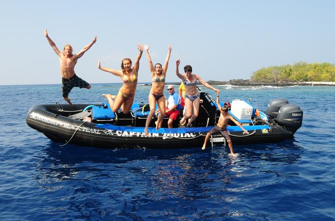 Zodiac Raft and Snorkel Adventure