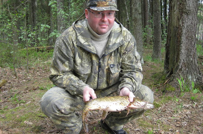Fishing with the Local Expert Fisherman in Leningrad Region