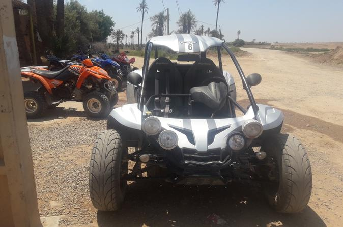 A Half Day Buggy Driving Tour In Marrakech Palm Groove And Villages - Marrakesh