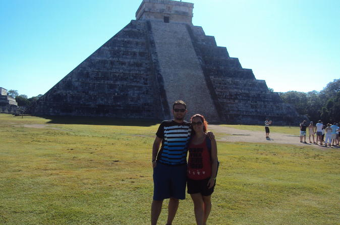 Chichen itza ek balam and hubiku cenote combo tour in playa del carmen 302887