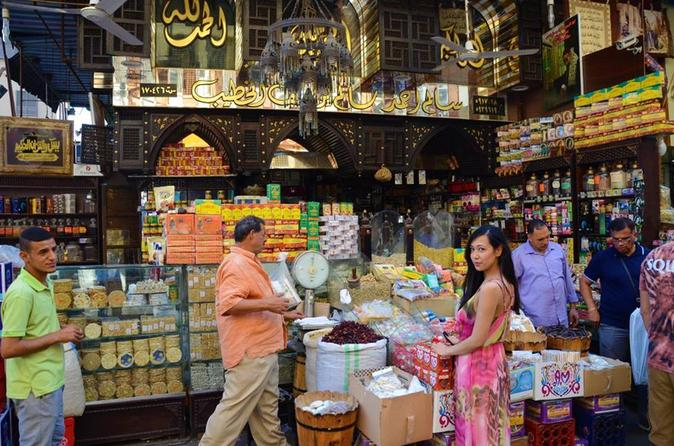 full-day private guided tours  Pharaonic village and Khan El-Khalili Bazaar Day tour in Cairo or Giza hotel